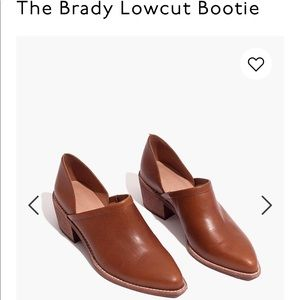 Madewell The Brady Lowcut Bootie
